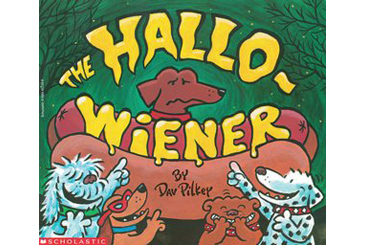 Halloween children's book, HalloWiener funny book