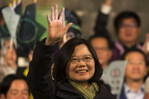 First Female President of Taiwan Tsai Ing-wen