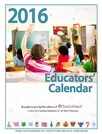 2016 Educators' Calendar