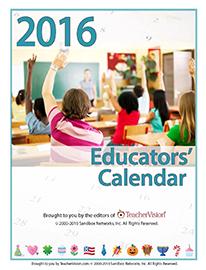 2016 Educators' Calendar