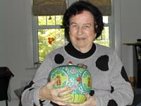 Jean Fritz and Ginger Jar