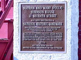 Nathan and Polly Johnson Sites