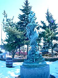 State Pier Fountain