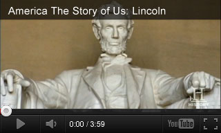 Video: America The Story of Us: Lincoln