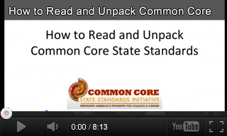 Video: Common Core Standards Overview
