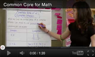 Video: Common Core State Standards for Mathematics