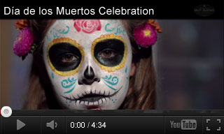Video: Dia de los Muertos Celebration