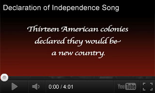 Video: Declaration of Independence Song