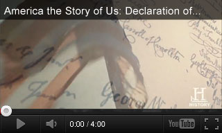 Video: America the Story of Us: Declaration of Independence