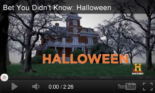 Video: Bet You Didn't Know: Halloween Origins
