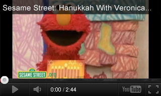 Video: Sesame Street Hanukkah With Veronica Monica