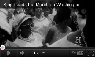 Video: History Specials: King Leads the March on Washington