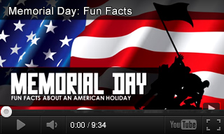 Video: Memorial Day Fun Facts