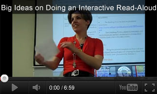 Video: Big Ideas on Doing an Interactive Read-Aloud When Reading to Children