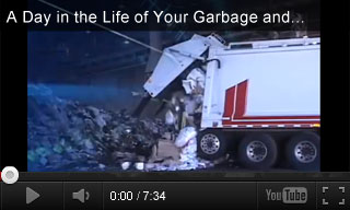 recycling waste management resources teachervision