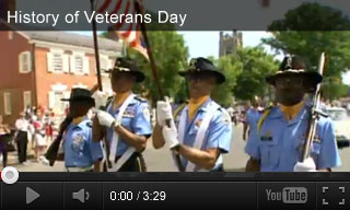 Video: History of the Holidays: History of Veterans Day