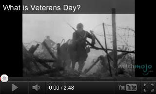 Video: What is Veterans Day?