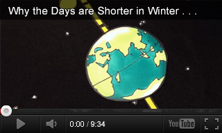 Video: Why the Days are Shorter in Winter and Longer in Summer