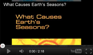 Video: What Causes Earth's Seasons?