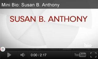 Video: Mini Bio: Susan B. Anthony