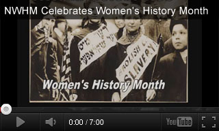 Video: NWHM Celebrates Women's History Month