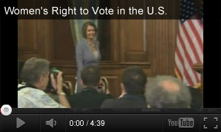 Video: Women's Right to Vote in the U.S.