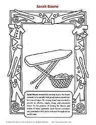ColoringPage,SarahBoone
