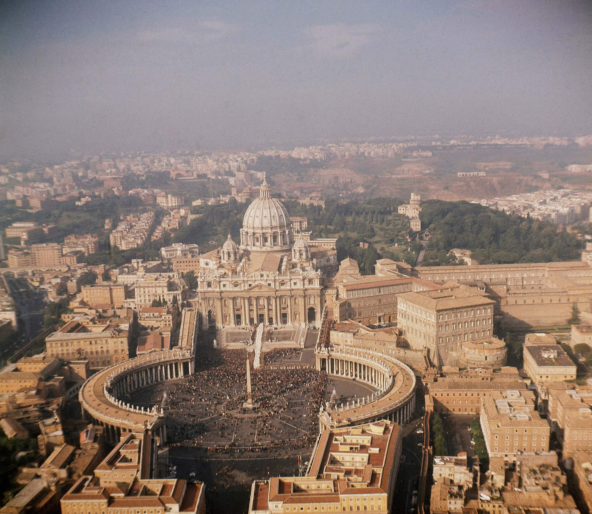 vatican city is less than one square kilometer