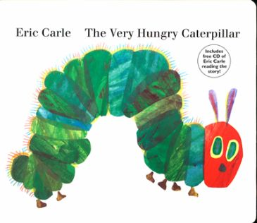 Very Hungry Caterpillar book cover