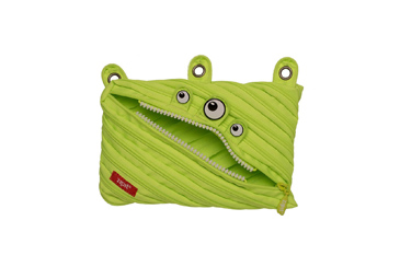 monster zipper pencil case